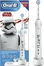 Парфюмерия и Козметика Детска електрическа четка за зъби - Oral-B D16 Junior Strar Wars