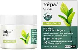 Парфюми, Парфюмерия, козметика Крем за лице - Tolpa Green Mattifying Normalizing Cream