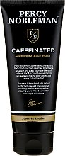 Парфюмерия и Козметика Кофеинов душ гел-шампоан за мъже - Percy Nobleman Caffeine Shampoo & Body Wash