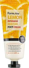 Парфюмерия и Козметика Крем за крака с екстракт от лимон - FarmStay Lemon Intensive Moisture Foot Cream
