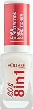 Парфюмерия и Козметика Заздравител за нокти - Vollare Cosmetics SOS 8in1