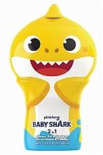 Парфюмерия и Козметика Шампоан-душ гел 2D - Air-Val International Baby Shark Shower Gel & Shampoo 2D