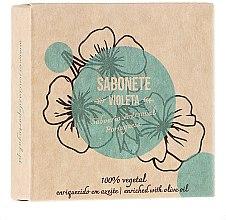 Парфюмерия и Козметика Натурален сапун с теменужка - Essencias De Portugal Senses Violet Soap With Olive Oil