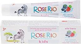 """Парфюми, Парфюмерия, козметика Детска паста за зъби """"Горски плодове"""" - Rose Rio Kids Toothpast"""