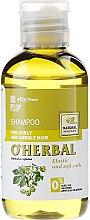 """Парфюмерия и Козметика Шампоан за къдрава и непокорна коса """"Мека по цялата дължина"""" - O'Herbal"""