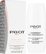 Парфюмерия и Козметика Дезодорант рол-он - Payot Le Corps Deodorant Ultra Douceur Alcohol Free Roll On Deodorant