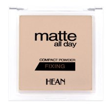 Парфюмерия и Козметика Пудра за лице - Hean Matte All Day Compact Powder