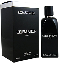 Парфюми, Парфюмерия, козметика Romeo Gigli Celebration Man - Парфюма вода