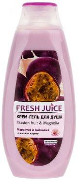 Душ гел-крем с екстракт от маракуя и магнолия - Fresh Juice Brazilian Carnival Passion Fruit & Magnolia — снимка N5