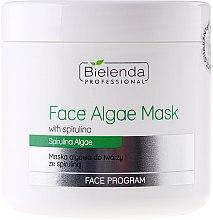 Парфюмерия и Козметика Алгинатна маска за лице със спирулина - Bielenda Professional Algae Spirulina Face Mask