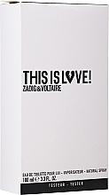 Парфюмерия и Козметика Zadig & Voltaire This is Love! for Him - Тоалетна вода (тестер с капачка)