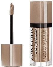 Парфюми, Парфюмерия, козметика Течни сенки за очи - Bourjois Satin Edition 24H Eyeshadow