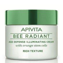 Парфюмерия и Козметика Наситен крем за лице - Apivita Bee Radiant Rich Cream
