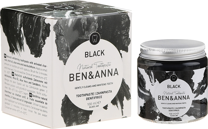 Натурална паста за зъби - Ben & Anna Natural Black Toothpaste
