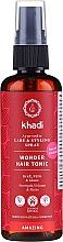 Парфюмерия и Козметика Тоник за коса на основа на аюрведични лечебни билки - Khadi Wonder Hair Tonic