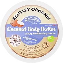 Парфюмерия и Козметика Кокосово масло за тяло против стрии - Bentley Organic BodyButter