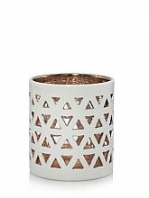 Парфюмерия и Козметика Керамична арома лампа - Yankee Candle Belmont White Ceramic Tea Light Votive