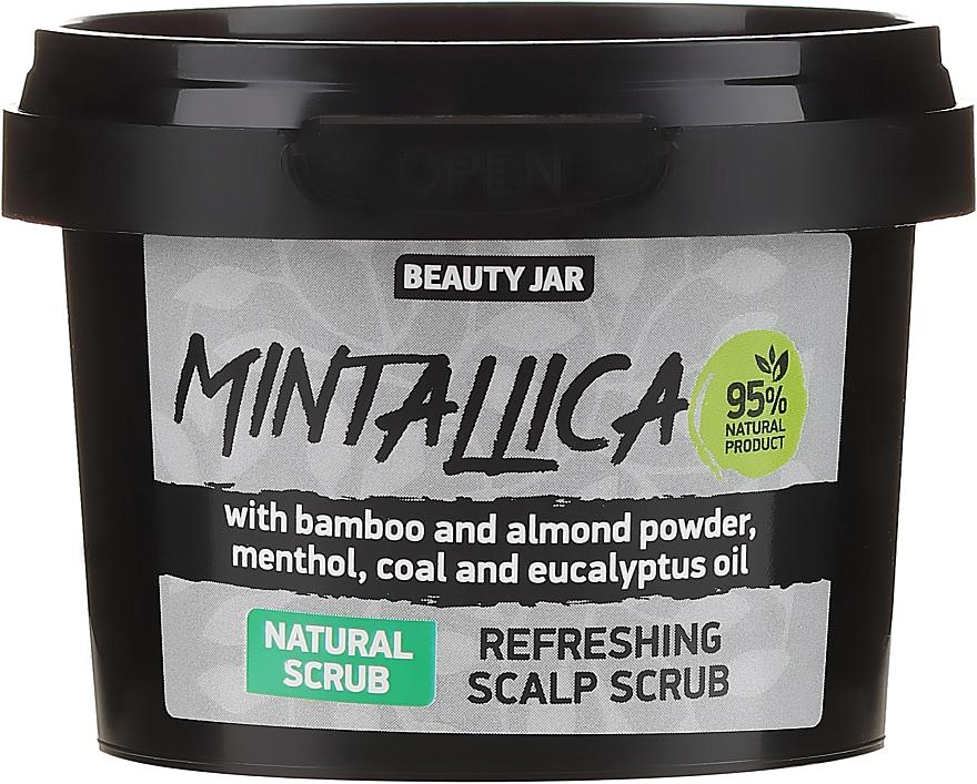 Освежаващ скраб за скалп - Beauty Jar Mintallica Refreshing Scalp Scrub