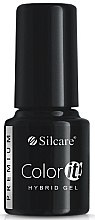 Парфюмерия и Козметика Гел лак за нокти - Silcare Color IT Premium Hybrid Gel
