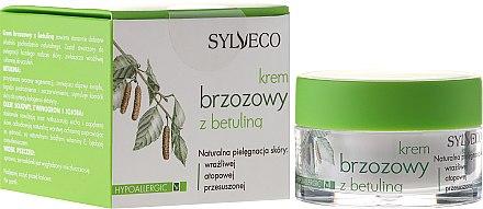 Брезов крем за лице с бетулин - Sylveco Hypoallergic Birch Day And Night Cream — снимка N1