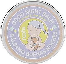 Парфюмерия и Козметика Нощен балсам за майки и деца с лавандула и масло от шеа - Roofa Good Night Balm