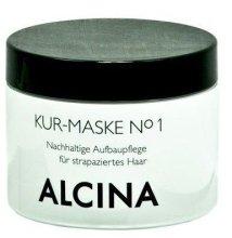 Парфюми, Парфюмерия, козметика Лечебна маска за увредена коса - Alcina Hare Care Kur-Maske №1