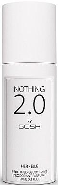 Парфюмен дезодорант - Gosh Nothing 2.0 Her — снимка N1