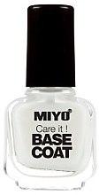 Парфюми, Парфюмерия, козметика База за лак - Miyo Care It Base Coat