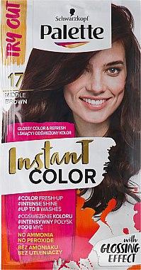Оцветяващ шампоан за коса без амоняк - Schwarzkopf Palette Instant Color