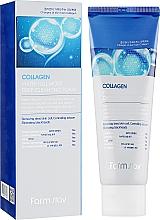 Парфюмерия и Козметика Овлажняваща почистваща пяна за лице с антистареещо действие - FarmStay Collagen Water Full Moist Deep Cleansing Foam