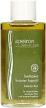 Парфюмерия и Козметика Масло за коса - Apeiron Keshawa Herbal Hair Oil