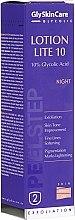 Парфюмерия и Козметика Нощна емулсия-пилинг 10% гликолова киселина - GlySkinCare Lotion Lite 10