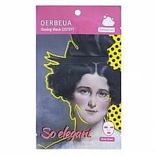 Парфюмерия и Козметика Двустепенна маска за лице - Oerbeua So Elegant Mask Sheet