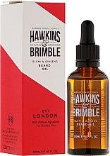 Парфюми, Парфюмерия, козметика Масло за брада - Hawkins & Brimble Elemi & Ginseng Beard Oil