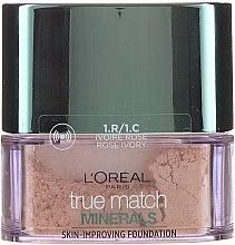 Парфюмерия и Козметика Пудра на прах - L'Oreal Paris True Match Minerals Powder