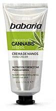 Парфюмерия и Козметика Крем за ръце - Babaria Cannabis Hand Cream