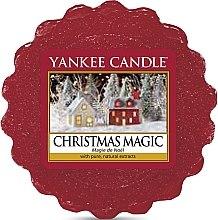 Парфюмерия и Козметика Ароматен восък - Yankee Candle Christmas Magic Tarts Wax Melts