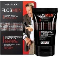 Парфюми, Парфюмерия, козметика Регенериращ крем против бръчки за мъже - Floslek Flosmen Revitalizing Anti-Wrinkle Cream For Men