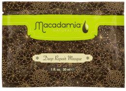 """Парфюми, Парфюмерия, козметика Възстановяваща маска за коса """"Арган и Макадамия"""" - Macadamia Natural Oil Deep Repair Masque (мостра)"""