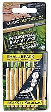 Парфюмерия и Козметика Комплект интердентални четки, 8 бр. - Woobamboo Toothbrush Interdental Brush Picks Small