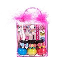 Парфюми, Парфюмерия, козметика Комплект лакове за нокти - Tutu Peel-Off (n/polish/5mlx3 + bag) (11)