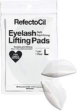Парфюмерия и Козметика Силиконови подложки за ламиниране на мигли - RefectoCil Eyelash Lifting Pads L