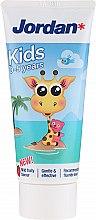 Парфюмерия и Козметика Детска паста за зъби 0-5 год., жираф - Jordan Kids Toothpaste