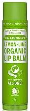 """Парфюми, Парфюмерия, козметика Балсам за устни """"Лимон и лайм"""" - Dr. Bronner's Lemon & Lime Lip Balm"""