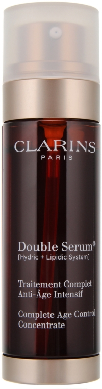 Серум за лице против стареене - Clarins Double Serum Complete Intensive Anti-Ageing Treatment