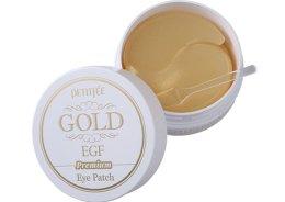 Парфюмерия и Козметика Хидрогел пачове за очи Premium със злато и EGF - Petitfee & Koelf Premium Gold & EGF Eye Patch