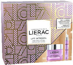 Парфюми, Парфюмерия, козметика Комплект за лице - Lierac Lift Integral Set (крем/50ml + околоочен крем/15ml)