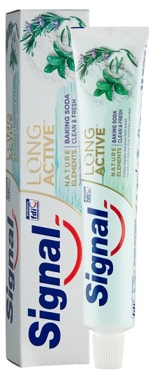 Паста за зъби със сода - Signal Toothpaste Nature Baking Soda