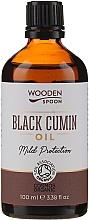 Парфюмерия и Козметика Масло от черен кимион - Wooden Spoon Black Cumin Oil