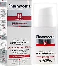 Парфюми, Парфюмерия, козметика Специален успокояващ и стягащ крем за лице - Pharmaceris N Active-Capilaril Forte Cream